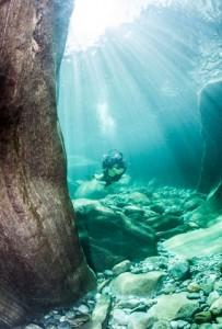 Scuba diving in Switzerland