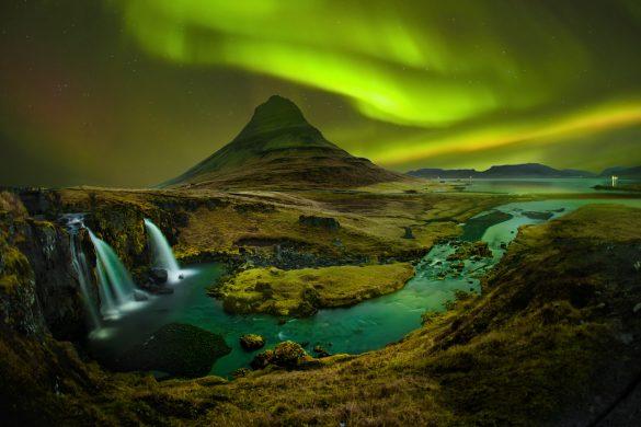 Kirkjufell (Church mountain) is mountain on the north coast of Iceland's Snæfellsnes peninsula.